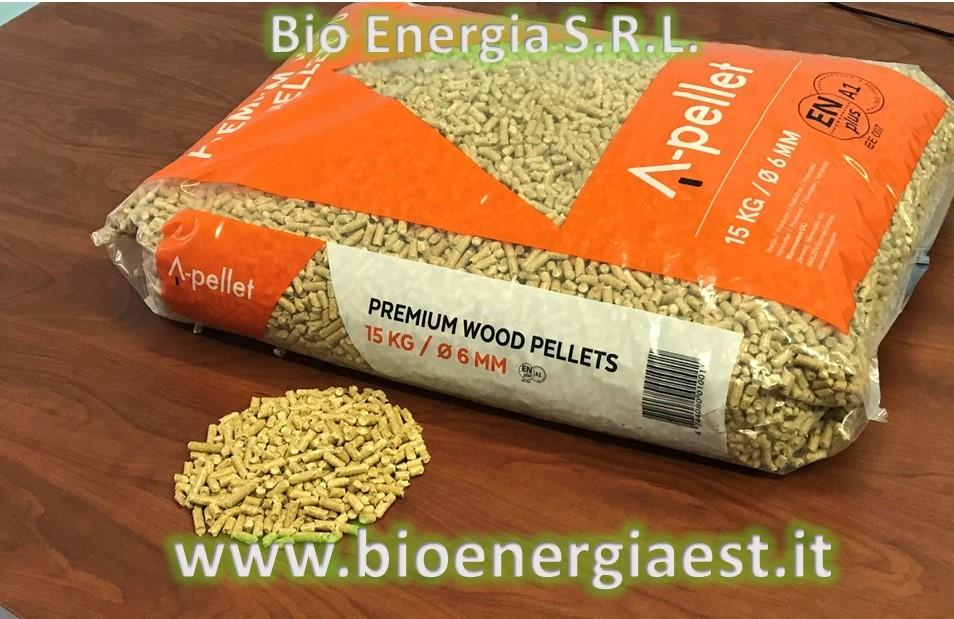 Bio energia a pellet premium wood